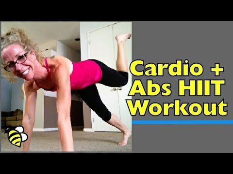 On the Floor - Bodyweight Cardio and Abs H.I.I.T. Full-Length at-Home Workout Get all the heart-pumping cardio you need (plus squeeze in some work on those abs) without even standing up!