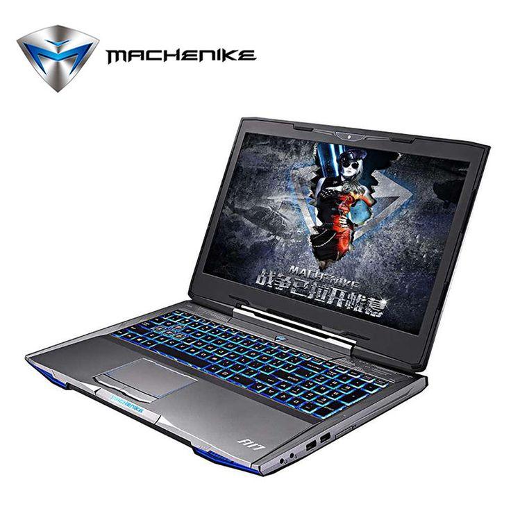 Machenike F117-F6 Laptop Computer SSD 240GB Aluminium Gaming Notebook Intel Core i7 GTX1060 6GB GDDR5 128bit Ram 8GB 15.6''1080P