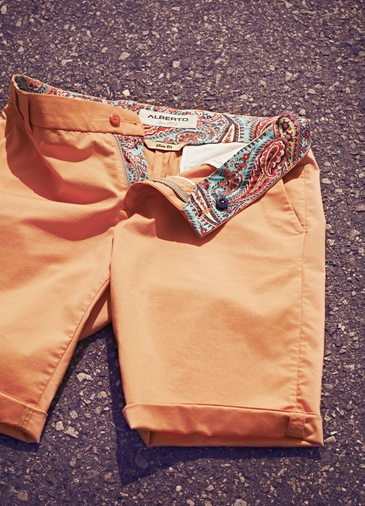 Colorful shorts from Alberto