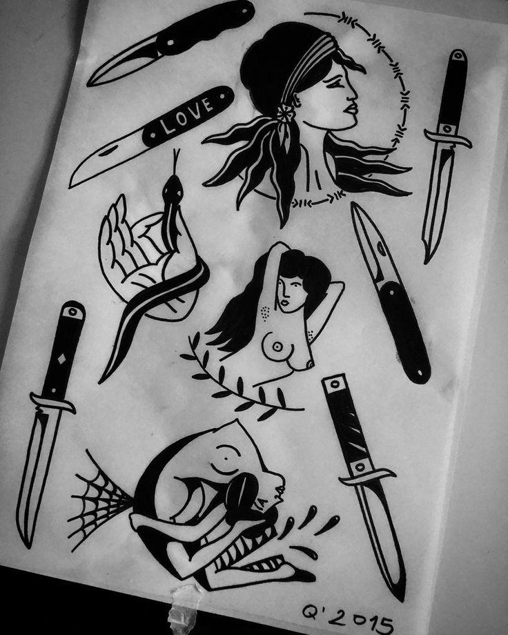 #ink #blackink #tattoos #blackwork #art #tattooflash #handtattoo #tattoo #tattoodesign #warsawtattoo #tatuaż #tatuagem #ilustracja #painting #illustration #drawing #sketchbook #instaart #boldlines #flashworkers #neotraditionaltattoo #oldschooltattoo #traditionaltattoo #classictattoo #ilustracion #daggertattoo #boldsolidtattooflash #onlyblackart #oldlines #blacklines