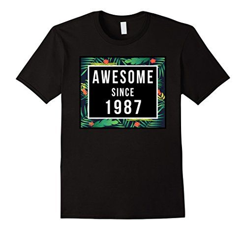 Men's 30th Birthday Gift tshirt 30 year old Awesome Since... https://www.amazon.com/dp/B06XVF3HZM/ref=cm_sw_r_pi_dp_x_g051ybFH2MV97