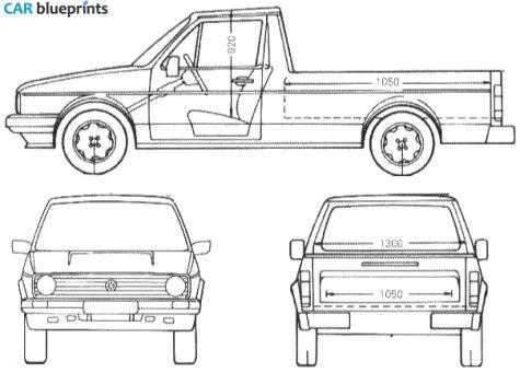 61 best blueprints cars images on pinterest cars art drawings car blueprints 1990 volkswagen caddy pick up blueprint malvernweather Images