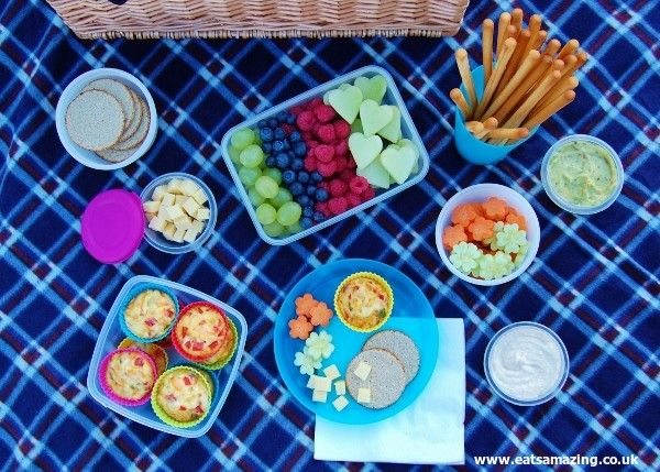 Eats Amazing - A delicious healthy picnic for the Organix No Junk Picnic Challenge
