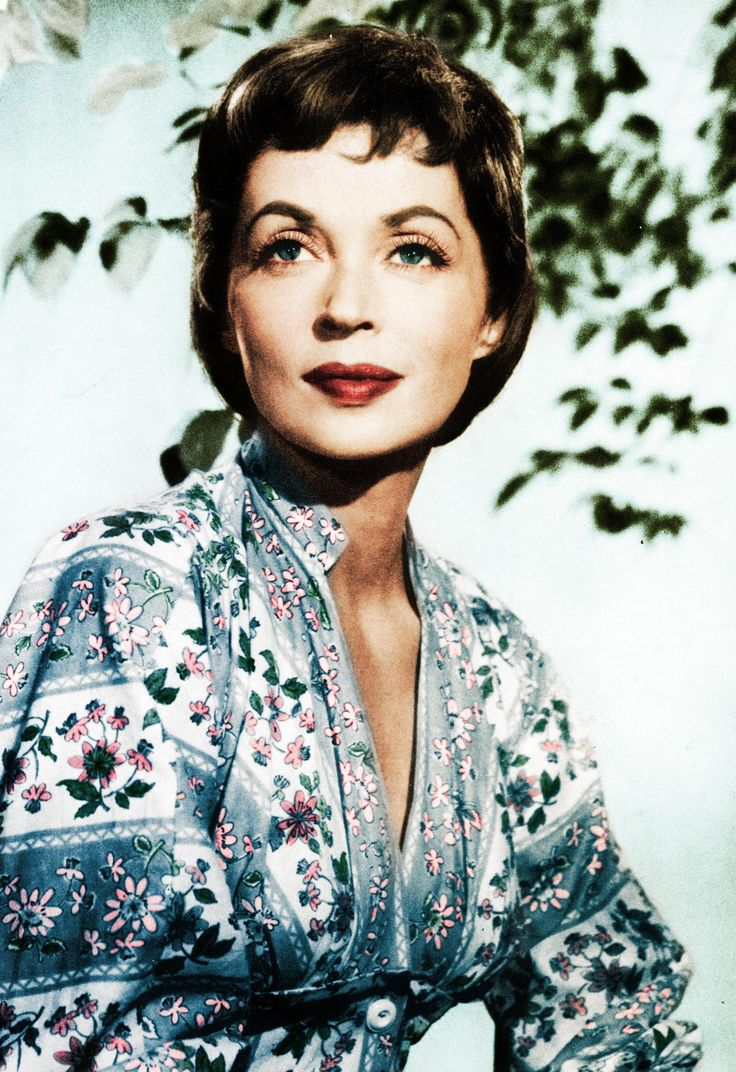 German Actress Lilli Palmer. She fled the Nazis and had quite an acting career in Hollywood.