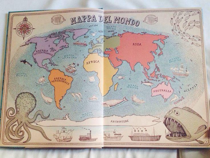 """""""Un atlante per viaggiare tra terre, mari e culture nel mondo"""""""
