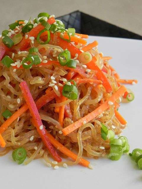 Practically Raw recipe: Almond Butter Sesame Noodles (raw OR cooked!)