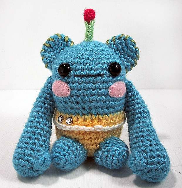 Amigurumi Alien : Amigurumi alien Amigurumi - aliens and monsters ...
