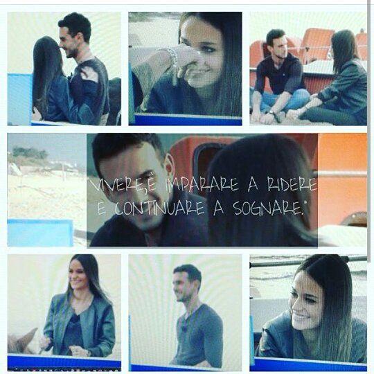 """""""Vivere è imparare a ridere e sognare"""". Vi è piaciuta la conoscenza tra Lucas&Sophia? #UominiEDonne #canale5 #Mediaset #excited #exclusive #staytuned @lucasperacchireal by lucasperacchireal"""