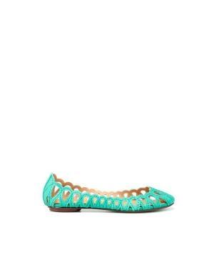 CUTWORK BALLERINA - Flats - Woman - ShoesBags - ZARA United States