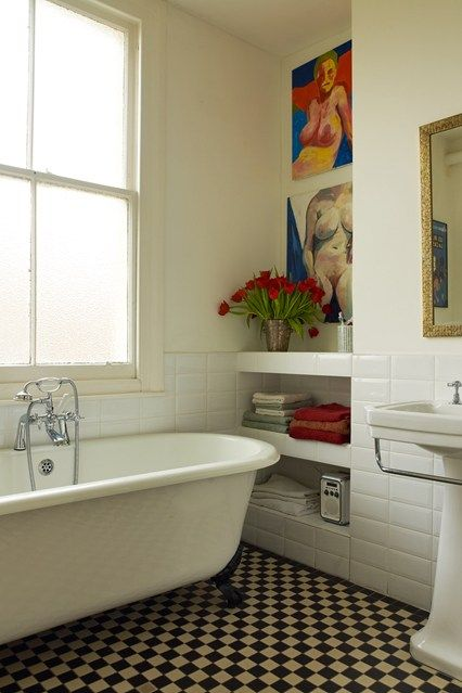 Victorian Ceramic Bathroom Tiles - Bathroom Design Ideas & Images (houseandgarden.co.uk)
