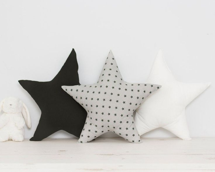 Image result for light grey star cushion