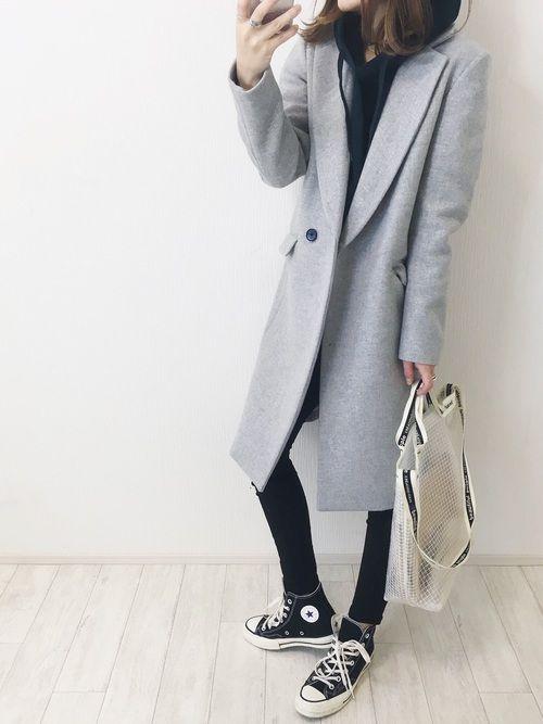UNITED TOKYOのチェスターコート「カシミヤウールチェスターコート」を使ったmayumiのコーディネートです。WEARはモデル・俳優・ショップスタッフなどの着こなしをチェックできるファッションコーディネートサイトです。