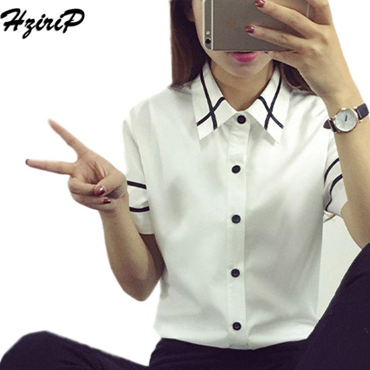 Hzirip 2017 Summer Harajuku BF Polo Mujer Cotton Short Sleeve White Ladies Polo Shirt Women Polos Mujer Plus Size Blusas Mujer