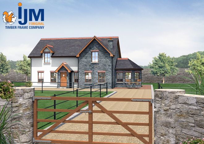 IJM Timber Frame #ijm #timberframe
