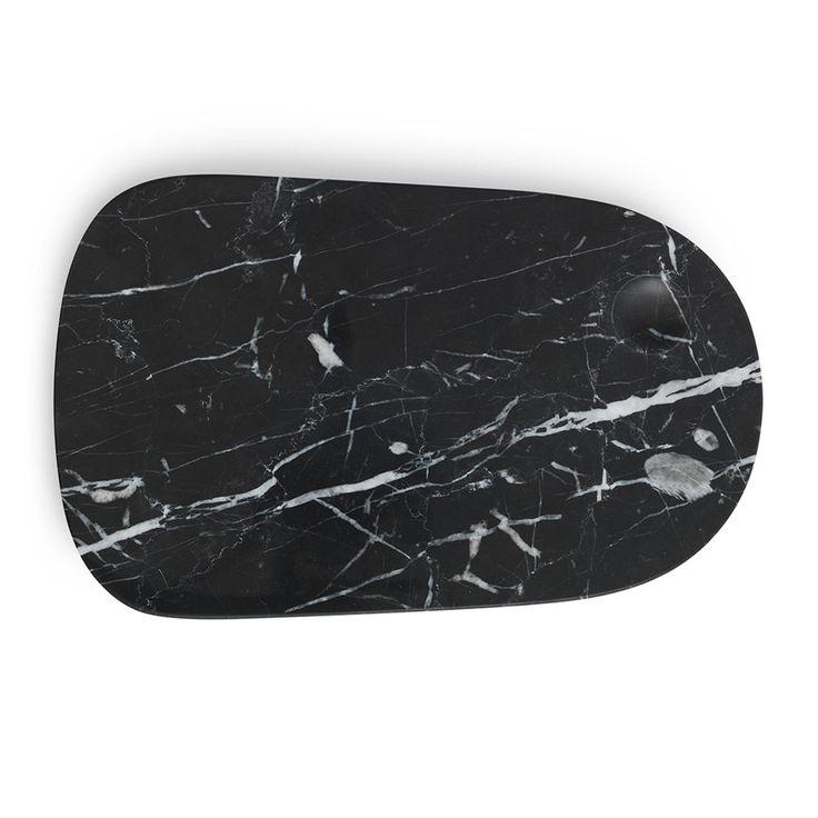 top3 by design - Normann Copenhagen - NM pebble board large black