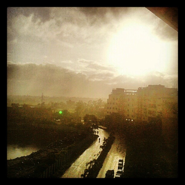 View from hostel..! - @siddy05- #webstagram