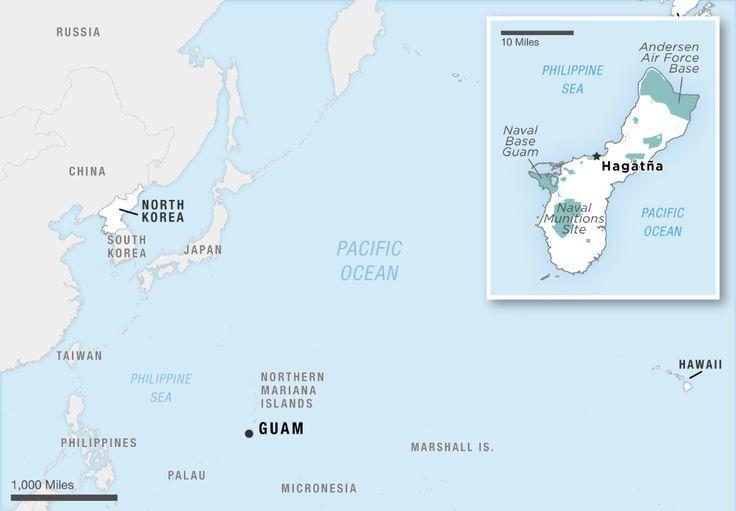 Mengenal Pulau Guam Daerah Kolonial AS yang Akan Dirudal Korut  KIBLAT.NET Guam- Pada Rabu (09/08) Korea Utara mengeluarkan pernyataan yang mengejutkan. Di mana Korut mengancam akan menyerang wilayah kolonial AS yang berjarak sekitar 2.100 mil dari Semenanjung Korea.  Pernyataan itu dikeluarkan sehari setelah Presiden Donald Trump mengancam akan menyerang Korea Utara. Namun Korut justru membalas ancaman itu dengan ancaman pula. Bahwa daerah kolonial AS berupa Pulau Guam akan dirudal…