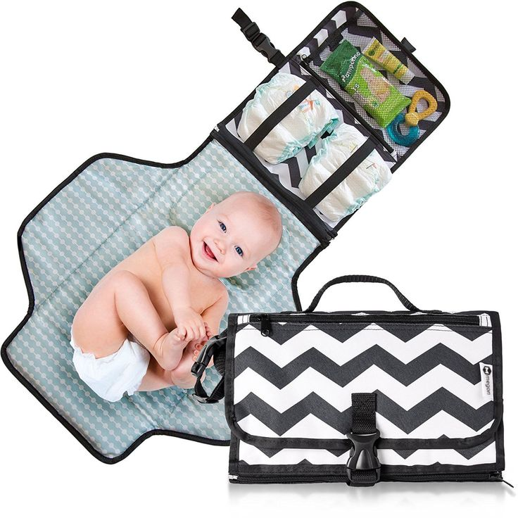 Travel Diaper Changing Bag Pad Mat Padded for Baby Portable Changing Station Uni | eBay