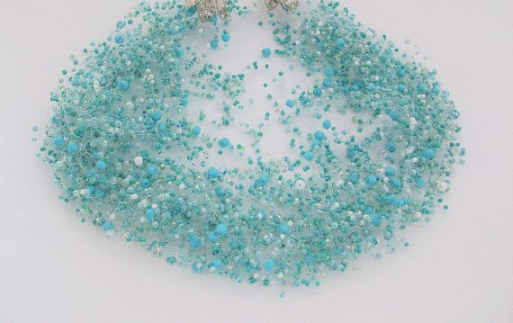Air Necklace season: my Light Turquoise Air Necklace
