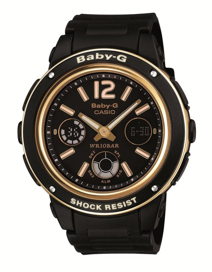 Casio Baby-G Shock Resist Lady's Watch - Big Case Series - Gold Edition BGA-151GG-1BJF (Japan Import): http://watches.cybermarket24.com/casio-baby-g-shock-resist-ladys-watch-big-case-series-gold-edition-bga-151gg-1bjf-japan-import/