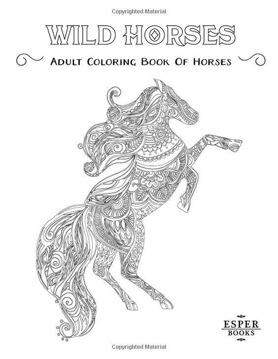 457 best coloring horse, zebra images on Pinterest | Zebras, Horse ...