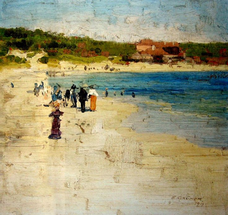 Summer Afternoon, Coogee Beach. Eliot Gruner.