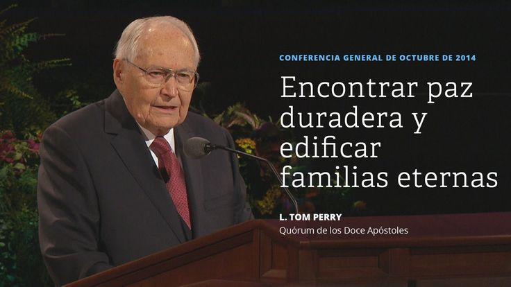 Encontrar paz duradera y edificar familias eternas