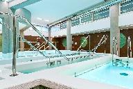 "Photography of the therapeutic swimming pool of the ""Policlinico Italia"" hospital in Rome - Photo: Luca Girardini - www.lucagirardini.com"