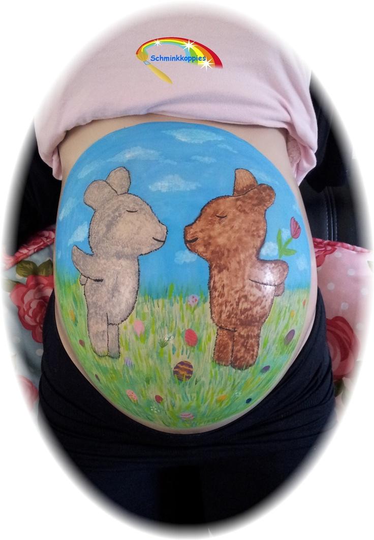 Vrolijk Pasen Bellypaint