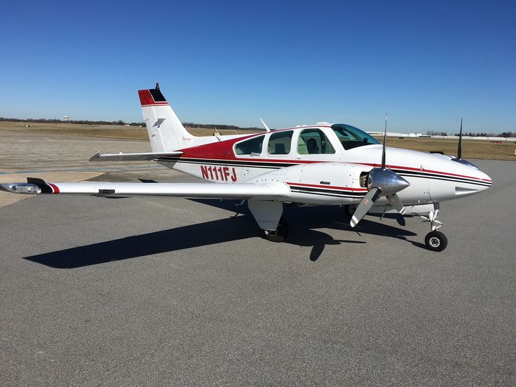 1978 Beechcraft Baron B55 for sale in NC United States => www.AirplaneMart.com/aircraft-for-sale/Multi-Engine-Piston/1978-Beechcraft-Baron-B55/13823/