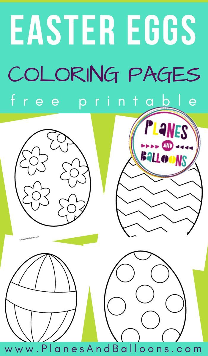 Free Easter Egg Templates And Coloring Pages For Your Easter Activities Printable Easter Activities Easter Activities Easter Activities For Kids [ 1200 x 700 Pixel ]
