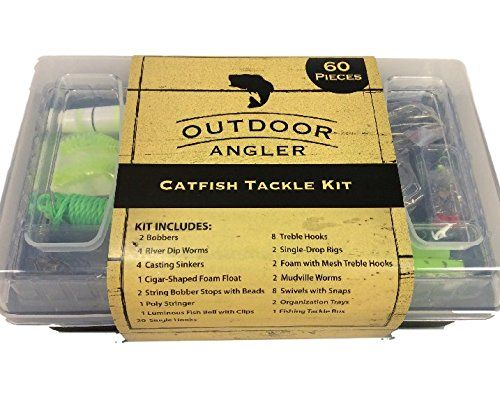 Outdoor Angler Catfish Tackle Kit - 60 pcs *** You can find more details by visiting the image link.