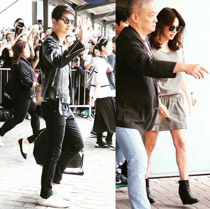 """Welcome to Hong Kong   #repost @repostapp #songhyekyo #songjoongki #descendantsofthesun #welcome  #hk #太陽的後裔 #oppa #drama #hongkong #kbs #宋仲基 #宋慧喬…"""