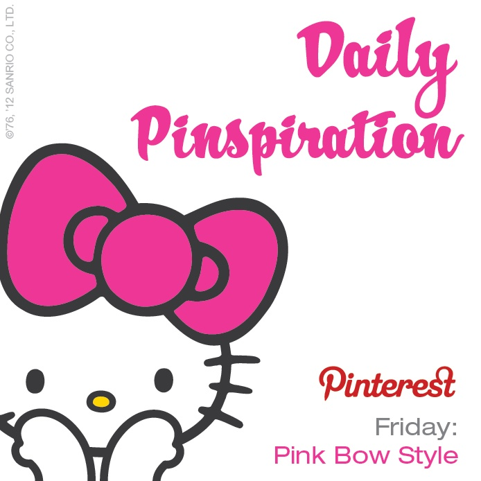 Friday's pinspiration: Pin something that shows your STYLE! #SephoraHelloKitty
