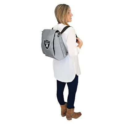 NFL Oakland Raiders LilFan Diaper Bag