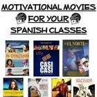 This 50 page motivational movie packet is an excellent teaching tool for middle school and high school Spanish Teachers!  This packet includes gene...
