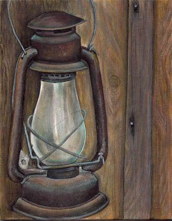 Hurricane Lamp Simone Manley @Simbotic