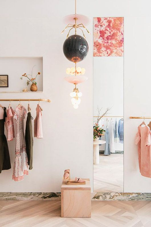 pink boutique decor. / sfgirlbybay