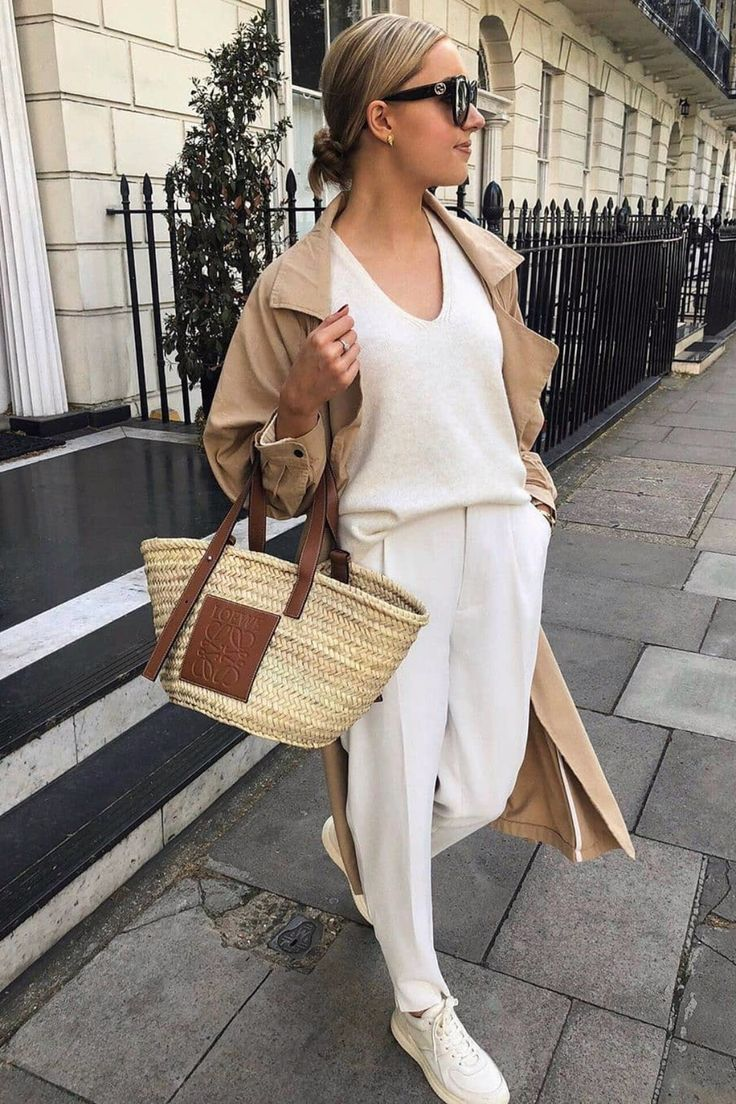 15+ Minimalistic Outfits For Spring  – Josie