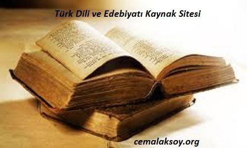 12.Sınıf Türk Edebiyatı Kitap Cevapları Lider Yayınları 2016