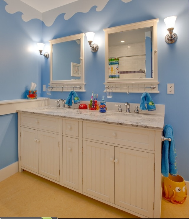 Best Kids Bathrooms: 78 Best Kids Room/ Bathroom Images On Pinterest