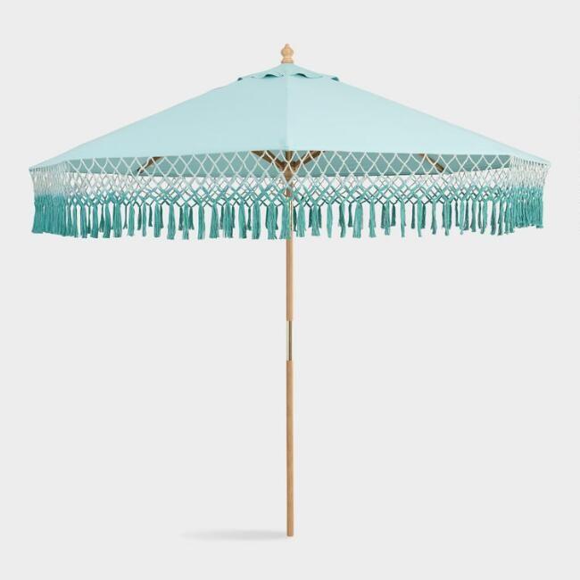 aqua 9 ft replacement umbrella canopy