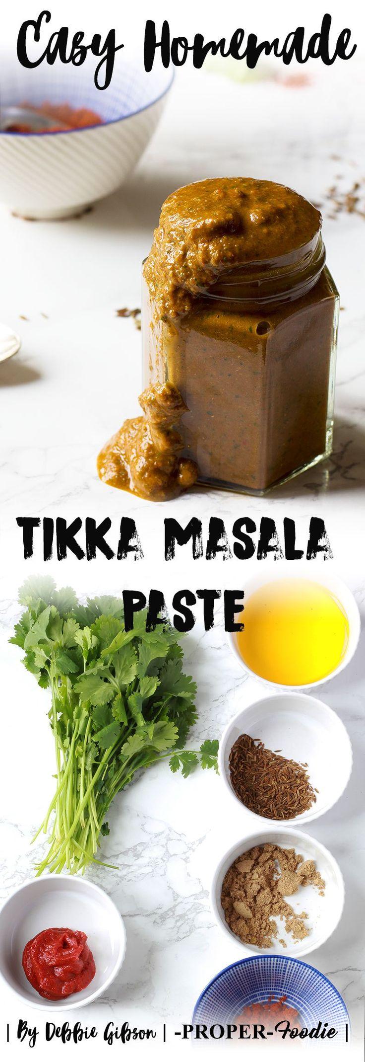 easy homemade tikka masala paste