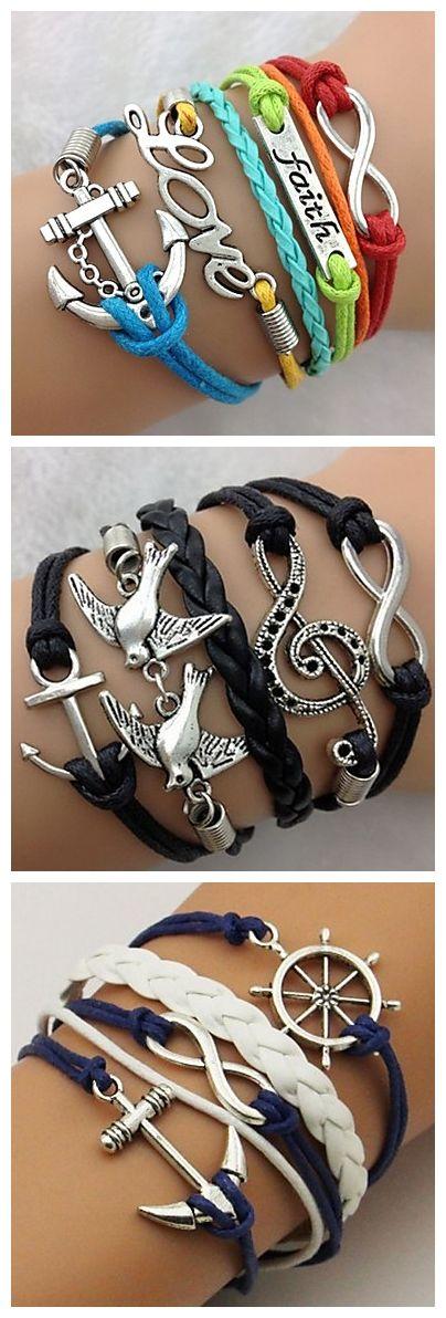 I love bracelets with words on them!