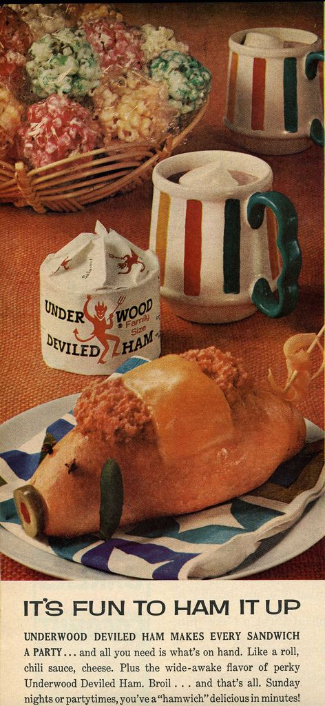 Deviled Ham Pig (1968).  Bears a resemblance to Lamb Chop from the Shari Lewis Show.