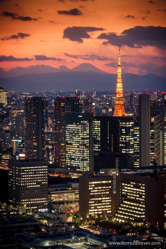 Tokyo Tower in Tokyo, Japan - ASPEN CREEK TRAVEL - karen@aspencreektravel.com