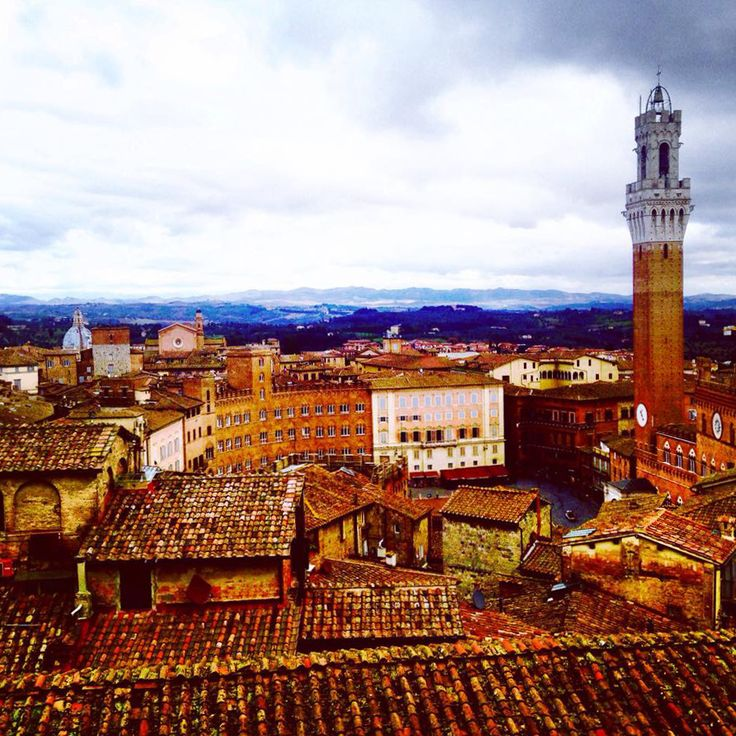 Il Campo dal Facciatone - Foto di Angela Gencarelli - #Siena #Toscana #PiazzaDelCampo