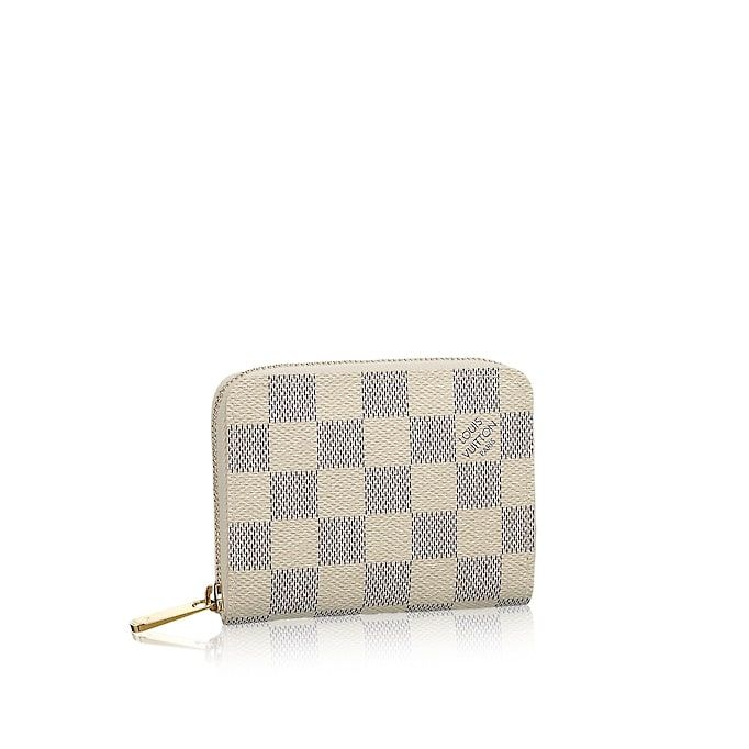 a050ab716d36 View 1 - Women - Zippy Coin Purse Damier Azur Canvas Women Small Leather  Goods Wallets