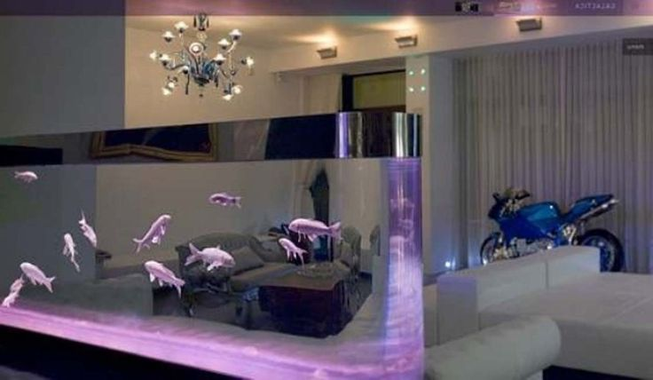 Awesome Aquarium Decoration Design Ideas ~ http://www.lookmyhomes.com/creative-aquarium-decoration-ideas/