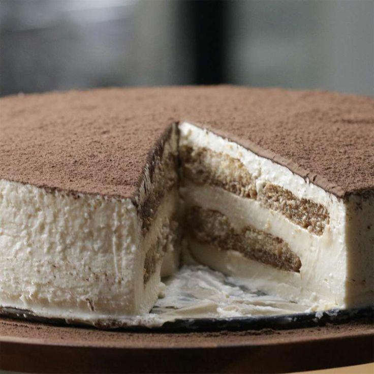 Tiramisu Cheesecake Recipe by Tasty